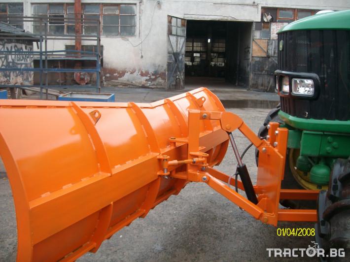 Техника за почистване Гребло за сняг 8 - Трактор БГ