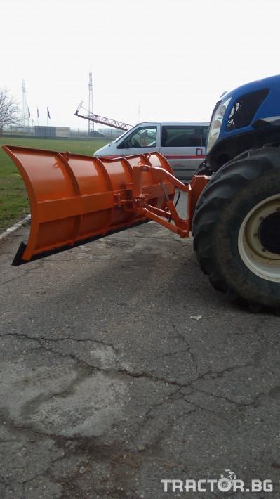 Техника за почистване Гребло за сняг 2 - Трактор БГ
