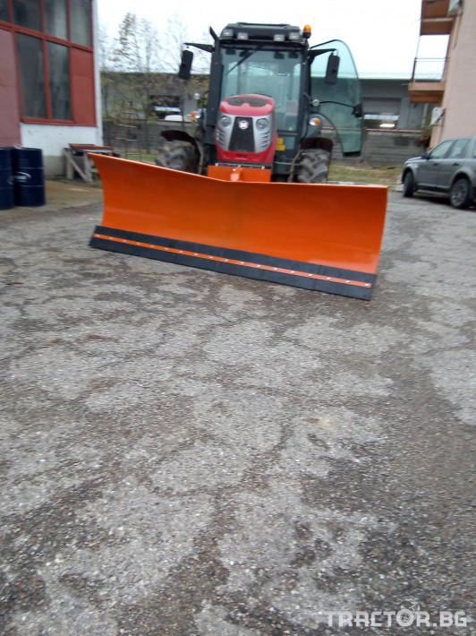 Техника за почистване Гребло за сняг 14 - Трактор БГ