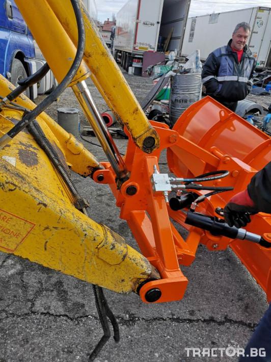 Техника за почистване Гребла за сняг Нова Агро 3 - Трактор БГ