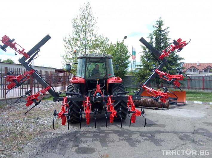 Култиватори Окопен култиватор Нова Агро КОН-7.0 2 - Трактор БГ